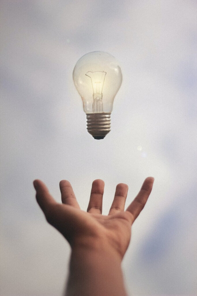 Hand & bulb